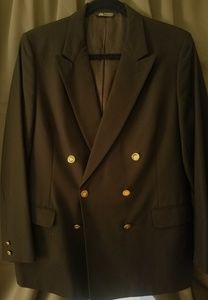 Burberry Blazer Dark Blue Mens